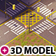 Low Poly urban pack - 3DOcean Item for Sale