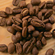 Roasted Coffee Beans on a Wooden Background - VideoHive Item for Sale