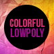 Bright and Colorful Lowpoly Background Pack - VideoHive Item for Sale