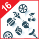 Food  icons, part 1 - GraphicRiver Item for Sale