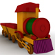 Cartoon Train - 3DOcean Item for Sale