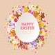Easter Greeting Cards with Paper Cut Easter Egg - GraphicRiver Item for Sale