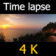 Road beside the Sea in Sunset - VideoHive Item for Sale