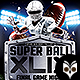 Super Ball XLIX Night Flyer - GraphicRiver Item for Sale