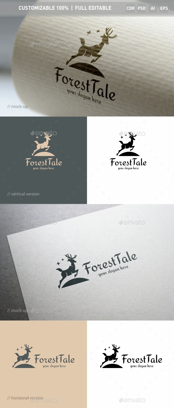 Forest Tale Logo Template