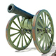 Highpoly Model of Retro Cannon  - 3DOcean Item for Sale