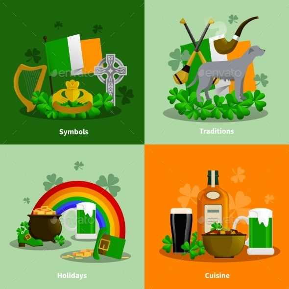 Ireland 2X2 Design Concept Set