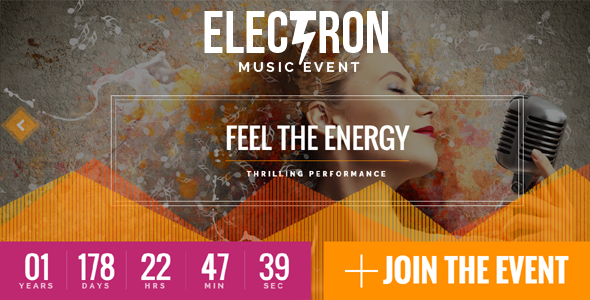 Electron - Event Concert & Conference Theme