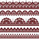 Mehndi Indian Henna Tattoo Brown Seamless Pattern, design elements - GraphicRiver Item for Sale