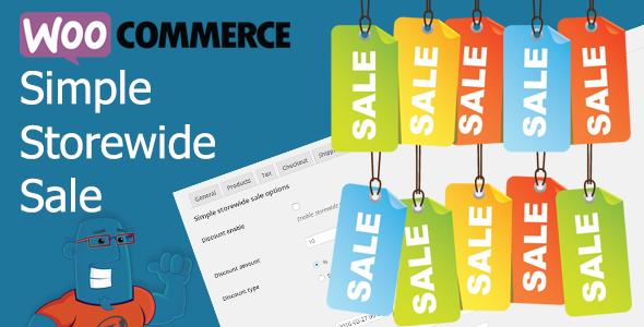 WooCommerce Simple Storewide Sale Download