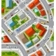 Top View of Urban Crossroads - GraphicRiver Item for Sale