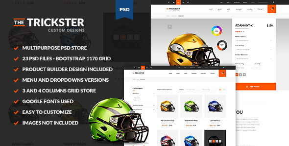 The Trickster - Multipurpose PSD Product Builder