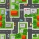 Top View of Seamless City  - GraphicRiver Item for Sale
