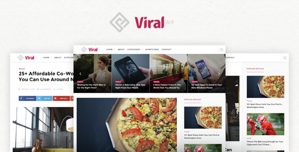 ViralWP - Viral WordPress Theme