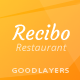 Recibo - Restaurant WordPress - ThemeForest Item for Sale