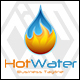 Hot Water - Water Drop Logo - GraphicRiver Item for Sale