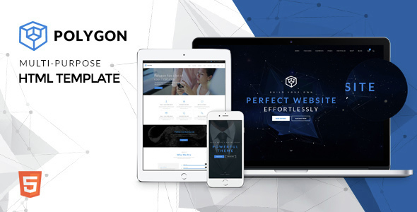 Polygon - Powerful Multipurpose HTML5 Website Template