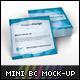 Mini Business Card Mockup - GraphicRiver Item for Sale