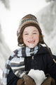 Boy with snow - PhotoDune Item for Sale