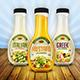Salad Dressing Bottle Mock Up - GraphicRiver Item for Sale
