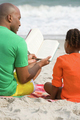 Father and daughter reading a book - PhotoDune Item for Sale