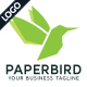 Paper Bird - GraphicRiver Item for Sale