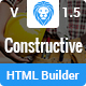 Constructive-Contractors Multi-Purpose HTML With Page Builder - ThemeForest Item for Sale
