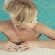 Sexy Blonde Relaxing In The Swimming Pool - VideoHive Item for Sale