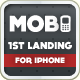Mobi iPhone Landing Page - ThemeForest Item for Sale