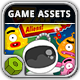 Zap Aliens - Game Assets - GraphicRiver Item for Sale