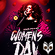 Womans Day Party Flyer - GraphicRiver Item for Sale