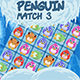 Penguin Match 3 - HTML5 game (Construct 2 CAPX) - CodeCanyon Item for Sale