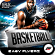 Basketball Playoffs Poster Template - GraphicRiver Item for Sale