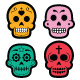 Halloween Mexican Sugar Skull - GraphicRiver Item for Sale