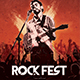 Rock Concert Poster Flyer - GraphicRiver Item for Sale