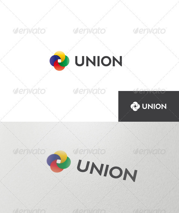 Abstract Union Logo