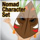 Nomad Character Set - GraphicRiver Item for Sale