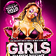 Girls Party Night  - GraphicRiver Item for Sale