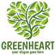 Green Heart Logo Template - GraphicRiver Item for Sale