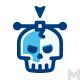 Vector Skull Logo - GraphicRiver Item for Sale