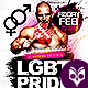 LGBT Pride Madness Flyer - GraphicRiver Item for Sale