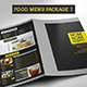 Food Menu Package 7 - GraphicRiver Item for Sale