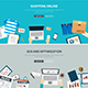 Online Shopping Concept with SEO Optimization - GraphicRiver Item for Sale