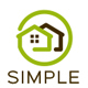 Simple house logo - GraphicRiver Item for Sale