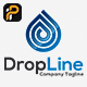 Drop Line logo - GraphicRiver Item for Sale