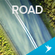 Flying Over the Road - VideoHive Item for Sale