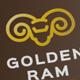 Golden Ram logo - GraphicRiver Item for Sale