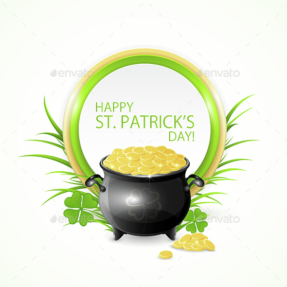 Pot of Gold and Clover