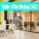 Studio / Office Mockups [Vol2] - GraphicRiver Item for Sale