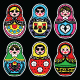 Matryoshka, Russian Doll Colorful Icons - GraphicRiver Item for Sale